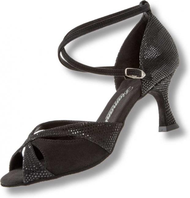 Diamant 090-076-028 - Zapatillas de Danza de Piel para Hombre Negro, Color Negro, Talla 40 2/3 EU