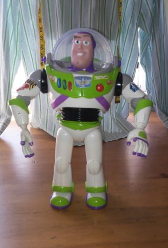 """Disney Pixar Toy Story Buzz Lightyear Talking 12"""" inch Action Figure Space"""