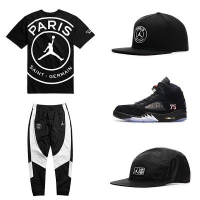 Jordan Brand x PSG Collection | Moda masculina, Camisas de