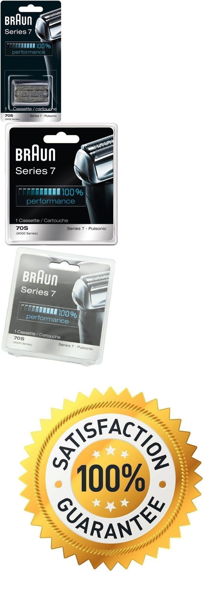 Shaver Parts and Accessories: Braun Series 7 Single Pack 70S Cassette Replacement 9000 Series Pulsonic *Bnib* -> BUY IT NOW ONLY: $38.99 on eBay!