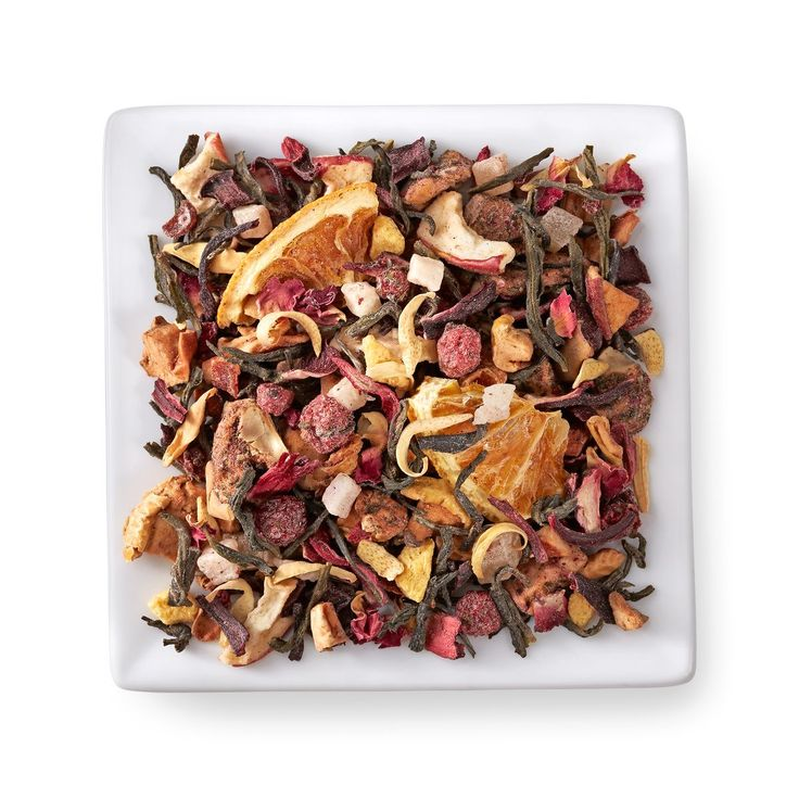 Reinvigorate your life with this delicious blend of white and herbal teas.