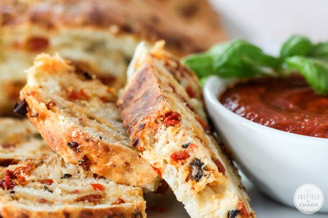 #Recipe : Pizza Bread - My Favorite Things