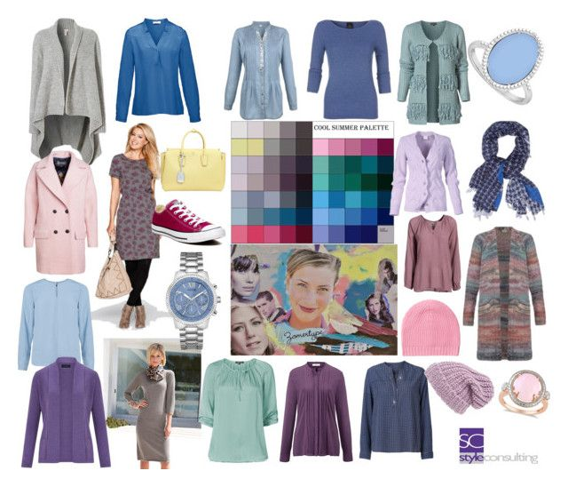 """""""Koele zomertype/ Cool summer color type. Seasonal color analysis."""" By Margriet Roorda-Faber."""