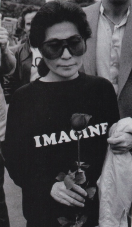 If you get the chance - see her works!   Yoko Ono - From 'Uncut Lennon,  The Ultimate Music Guide', 2010.