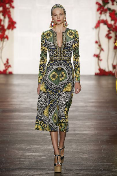 Naeem Khan Spring/Summer 2016 Ready-To-Wear Collection | British Vogue
