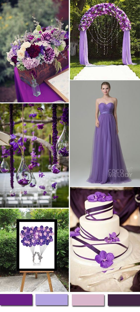 $99. Pretty purple tulle #bridesmaid #dress. #cocomelody