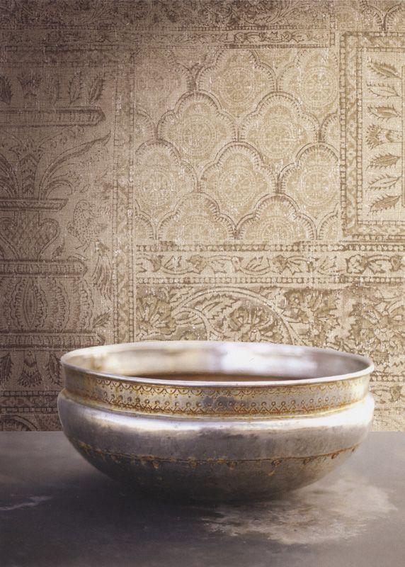 Taj Batik 01 från Wallquest