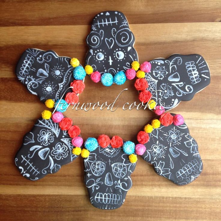 Maya's Day Of The Dead Cookie Recipe — Dishmaps