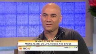Today Show: Andre Agassi On Life Tennis & Drugs