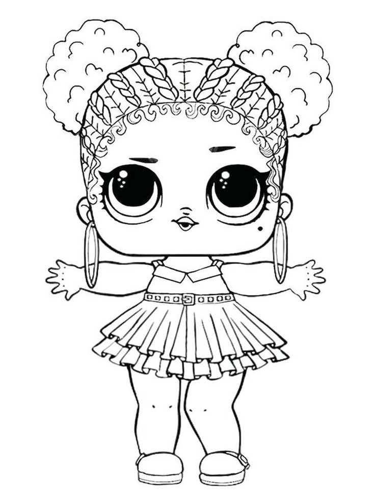 Lol Animal | Animal coloring pages, Lol dolls, Doll drawing