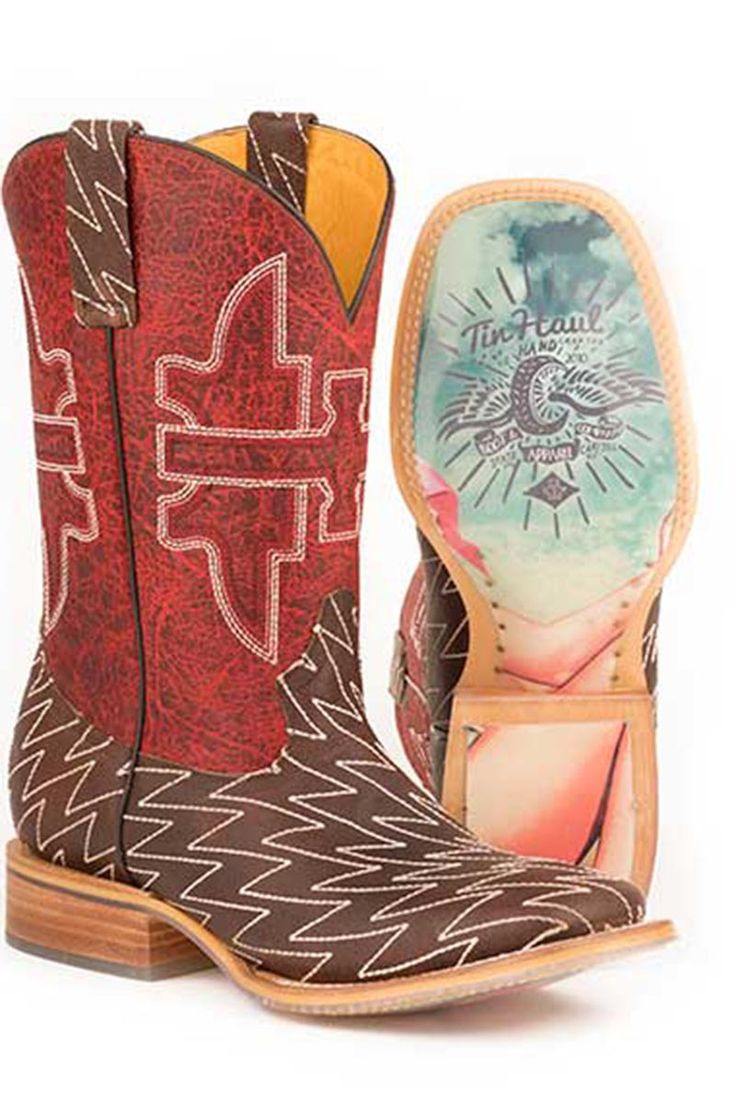 Tin Haul Lightning Lucy Men's Cowboy Boots - HeadWest Outfitters