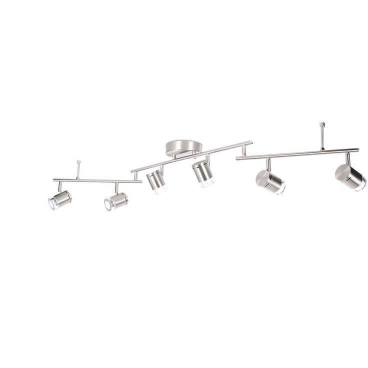 Shop Style Selections Leyden 6-Light Brushed Nickel Dimmable Integrated Led Fixed Track Light Kit at Loweu0027s Canada. Find our selection of track lighting ...  sc 1 st  Pinterest & Best 25+ Track lighting kits ideas on Pinterest | Track lighting ... azcodes.com