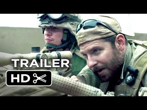 American Sniper Comes Out Christmas Day. The Trailer Is Amazing. Clint Eastwood Is Directing. Bradley Cooper Stars.