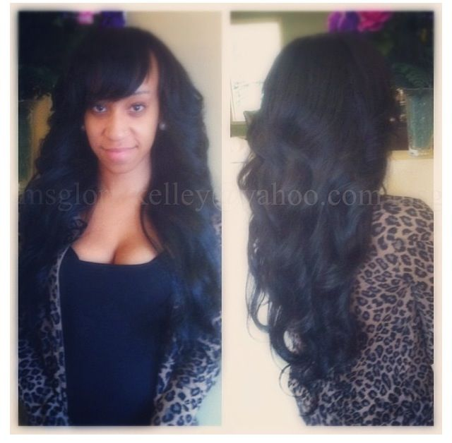 Sew In Weave Bob Hairstyles With Bangs Www Imgkid Com The Image Kid