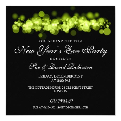 231 best New Year Eve party invitations images on Pinterest Party