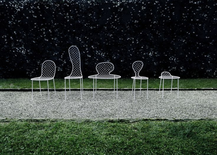 Family Chair outdoor version (design Junya Ishigami). made in Italy by Living…