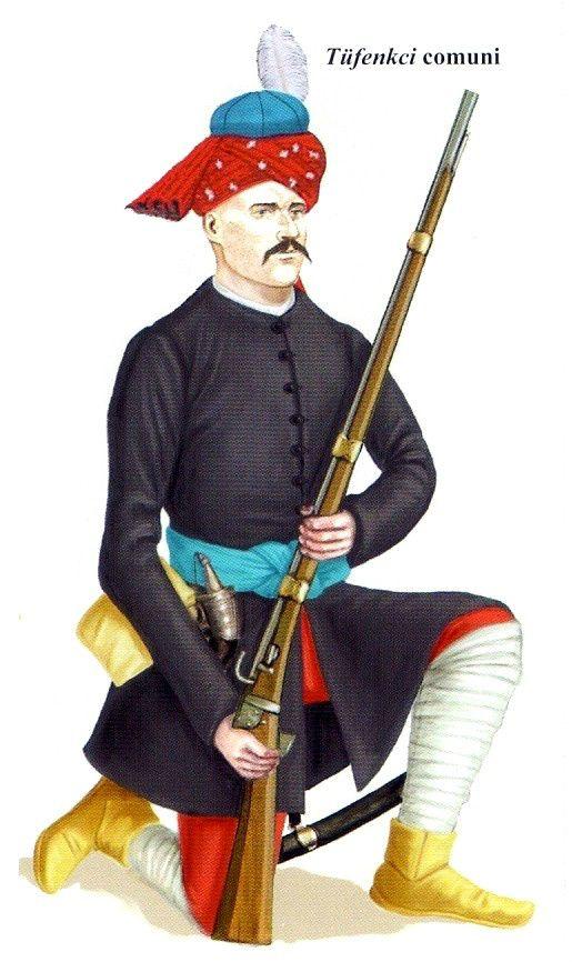 1667 Tufenkci comuni otomano