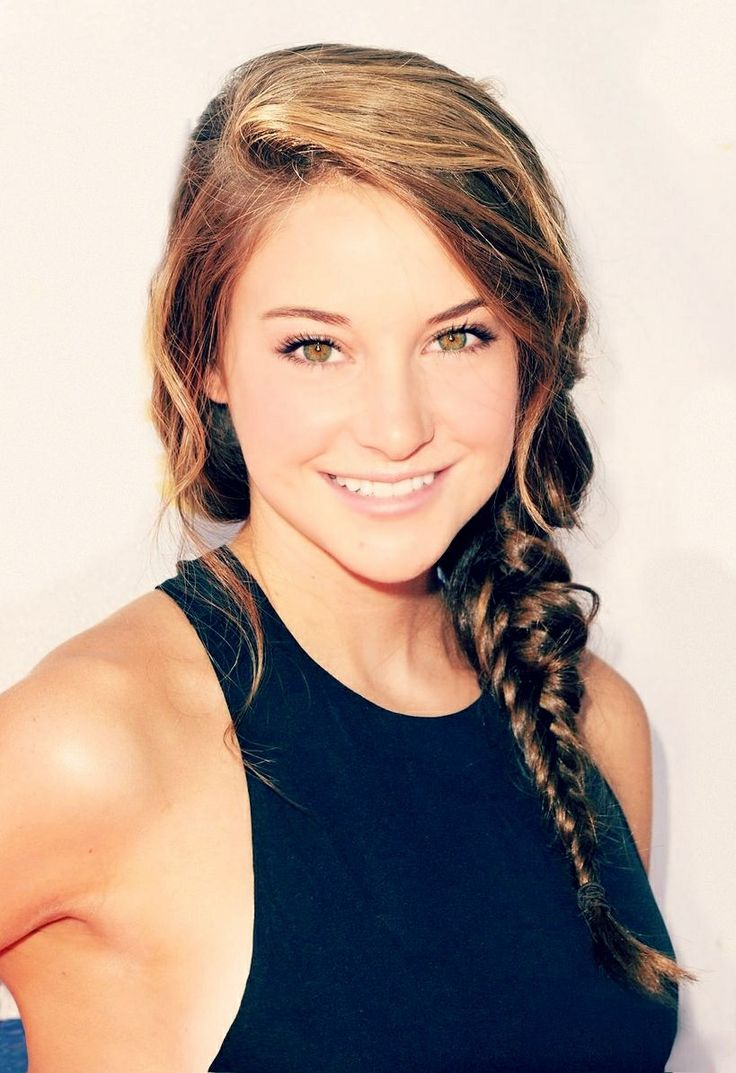 Shailene Woodley- I wonder what she is gonna do with her hair for insurgent???