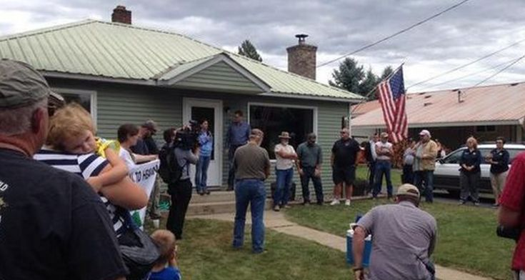 BREAKING: Gun Confiscation for Veterans Begins… But First Victim Had a Sheriff, 2 State Reps and 100 Local Patriots Show Up at House Yesterday to Stop It