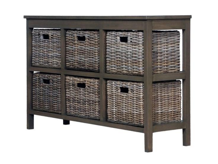M s de 1000 ideas sobre muebles de mimbre en pinterest - Cajones de mimbre ...