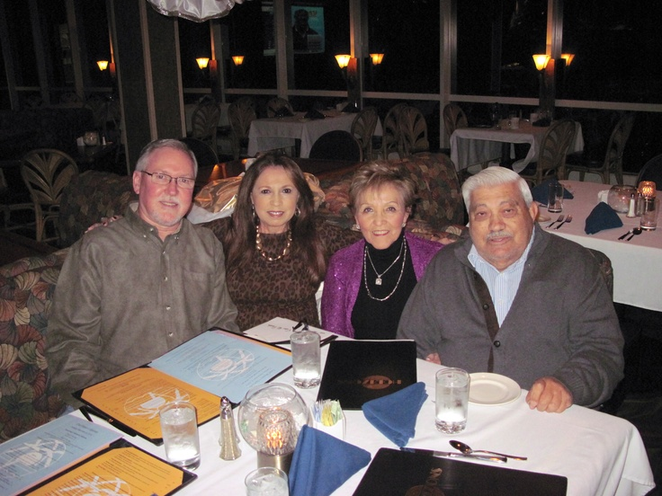 Celebrating Maria Ester and Carlos Davila's 52nd Anniversary at the Clarion Hotel in Ocean City, MD. - 12/4/2012