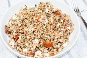 Today I made: Mary Berry: Herbed Quinoa & Bulgar Wheat Salad with Lemon & Pomegranate