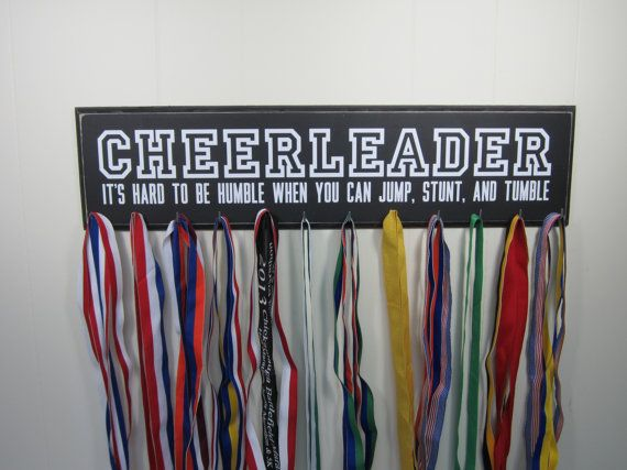 cheerleading medal holders - Google Search
