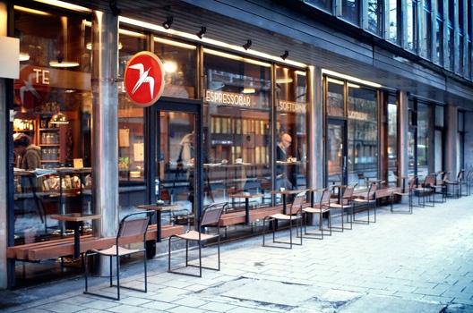 Fuglen(cafe) at Oslo