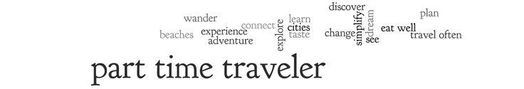 Part Time Traveler
