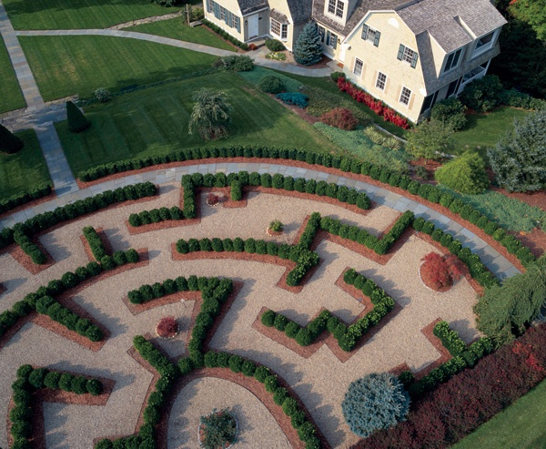 Beautiful gardens at the Mayflower Inn & Spa, Connecticut - a member of Relais & Chateaux