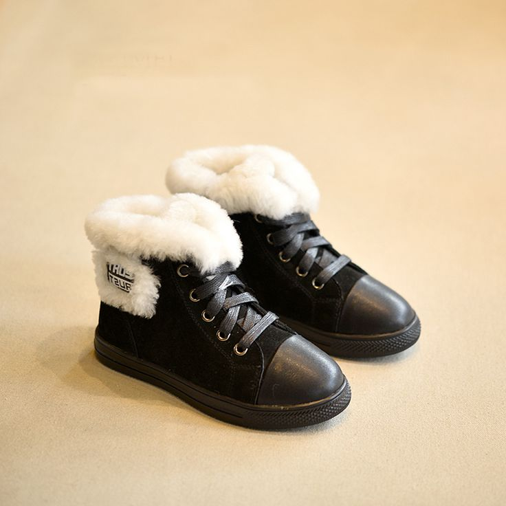 Find More Boots Information about North Pole Winter Shoes For Kids Warm Cotton Thick Material Boots Rubber Out sole Non slip Children Comfortable Footwear 26~37,High Quality shoe,China winter boots for women sale Suppliers, Cheap winter shirt from Shoes Palace  on Aliexpress.com