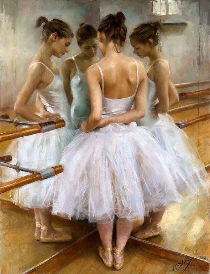 """Mirrored Friends"" - Vicente Romero Redondo  This is sort of sad, but sweet. Very beatiful."