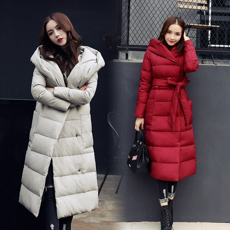 Пуховик - пальто женский роскошный, теплый, Стильный! Модная коллекция - 2017-18 г.