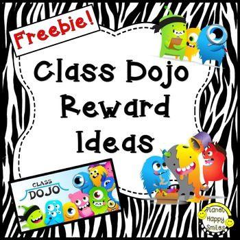 If you use Class Dojo, here is a freebie for you!What's Included:*A page of reward ideas to match the number of points they have earned during the day. (Editable)*Cards for the kids to keep track of their points (Editable)*Tally sheet to keep track of paoint and award at the end of the dayWe hope you love our products and come back for more.