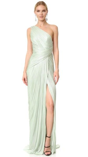 Maria Lucia Hohan one-shoulder gown