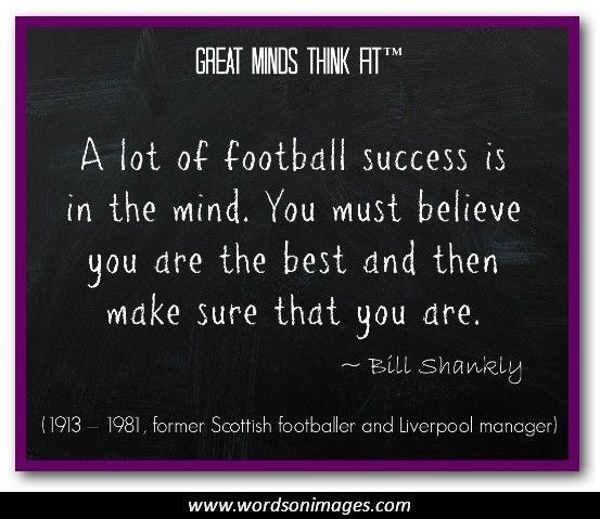 25 Best Motivational Quotes: 25+ Best Inspirational Football Quotes On Pinterest