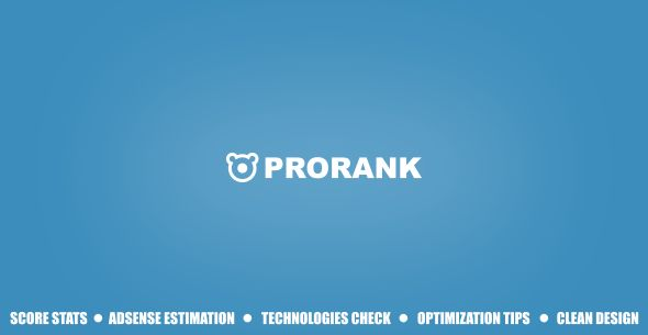 ProRank v1.0 - Analyzer stats website - https://codeholder.net/item/php-scripts/prorank-analyzer-stats-website