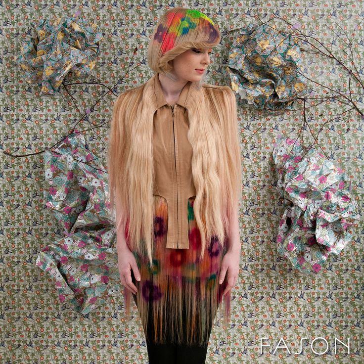 """Colection """"Conceptual"""" By Cristina Grama Hair: Cristina Grama Model: AndreAce Gabriélle"""