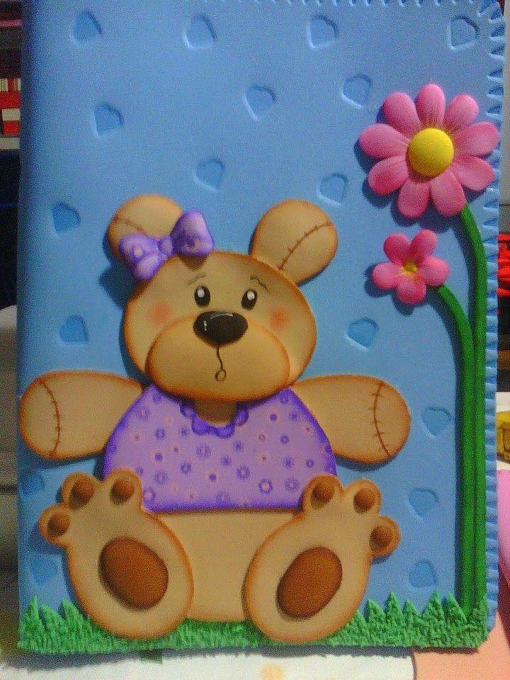Manualidades escolares para decorar: portacuaderno