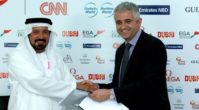 Ladies European Tour and golf in DUBAi renew Omega Dubai Ladies Masters contract #dubai #golf