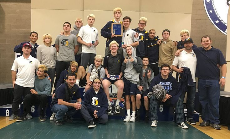 The Oak Ridge High School wrestling team logged 600 miles and more than 100 matches wrestled to come away with second place overall at the Sam Boyd CIT tournament in Morro Bay Jan 19-20. AJ Bicocca (195), who had four first-period pins and a decision win, brought home a championship. Other...  https://www.villagelife.com/sports/wrestling-team-brings-home-silver-more-individual-medals/