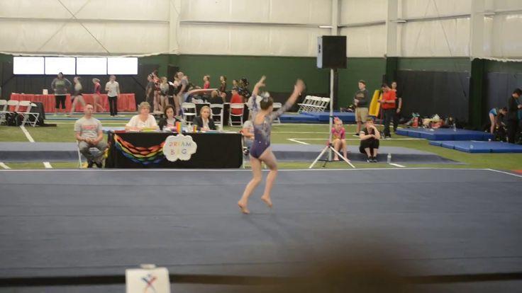 2017 Level 6 Region 5 State Championship Floor