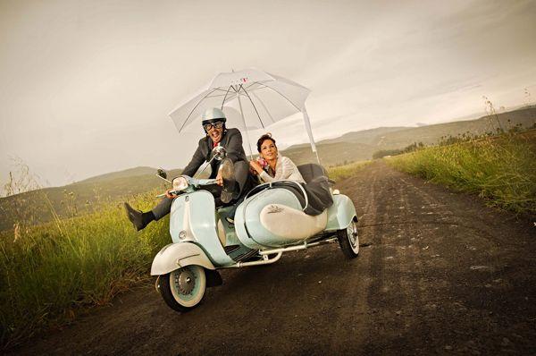 Idee per avere foto divertenti e originali nell'album di nozze!