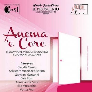 """Lanciano il 6 dicembre teatro dialettale con """"Anema e Core"""""""