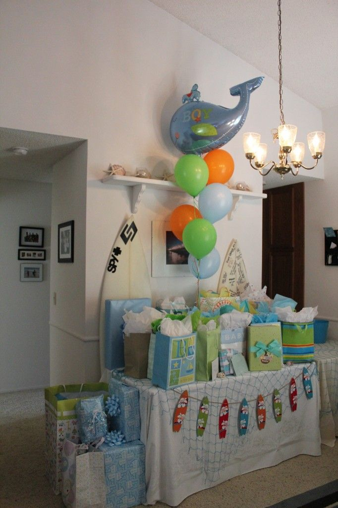 Image detail for -Little Surfer Dude Baby Shower | Project Nursery