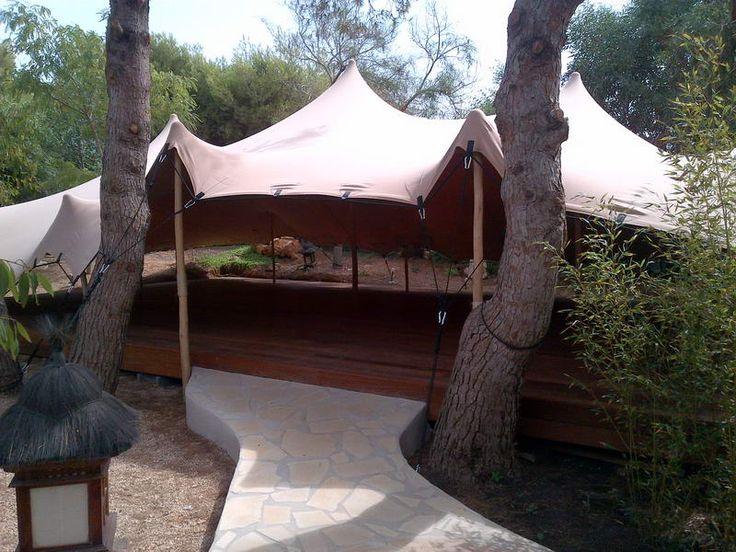 Casa Gazebo, Ibiza, ZenmaX open air dojo http://www.thefeel.org/