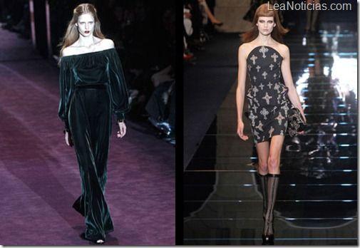 Moda gótica: la tendencia del momento en pasarelas - http://www.leanoticias.com/2012/11/05/moda-gotica-la-tendencia-del-momento-en-pasarelas/