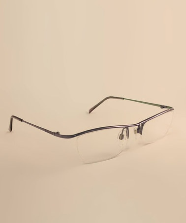 Frameless Glasses Pics : Blue Frameless Eyeglasses