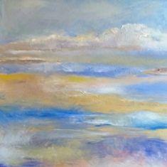 Southern Shores: oil on canvas 90 cm x 90 cm