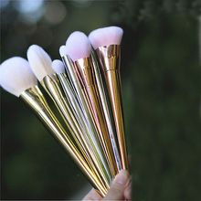 New 7pcs Makeup Cosmetic Brushes Set Powder Foundation Eyeshadow Eyeliner Lip…